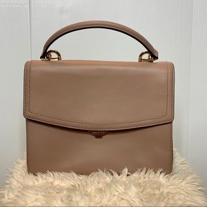 Ava Medium  Fawn Leather Satchel Michael Kors